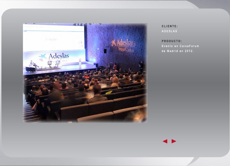 ADESLAS  Evento en Caixaforum Madrid