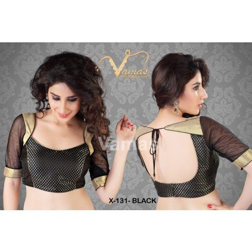 Online Shopping for Ram-Leela Styled Saree Blouse. X131 | Blouse | Unique Indian Products by Muhenera - MMUHE77115736690