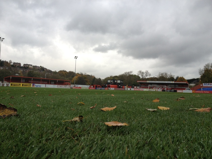 Sheffield FC pitch - home of true amateur football.