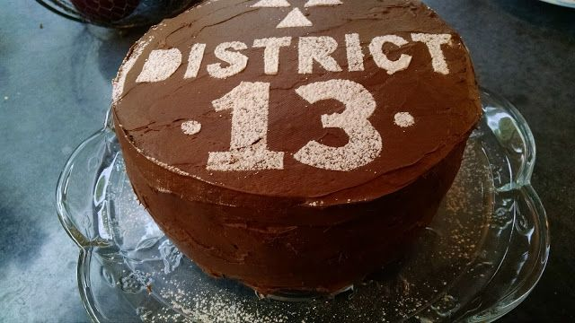 District 13 Cake! Hunger Games Mockingjay Party