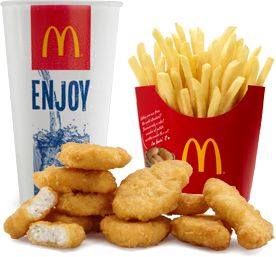 I don't care if you have issues with McDonalds. Chicken nuggets have healing properties and they taste like magic.