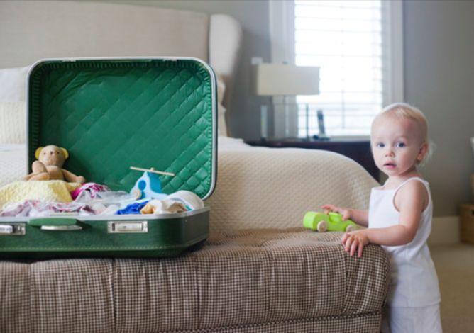 Dicas para organizar as malas nas viagens em família! Family travel tips