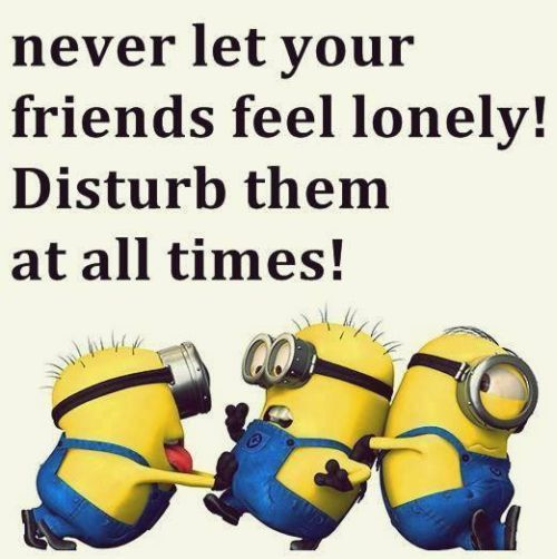 Never let your friends feel lonely Short Best Friends