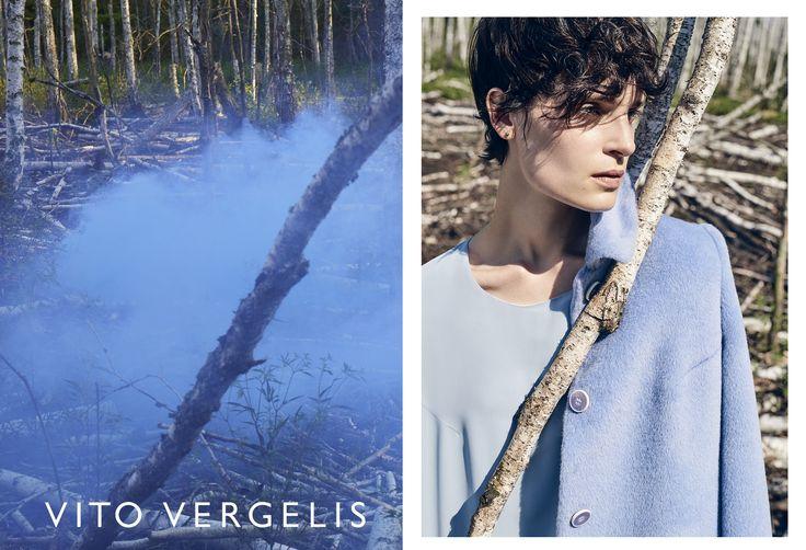 VITO VERGELIS campaign FW15/16 photos: Zuza Krajewska, model: Charlotte Tomaszewska #vitovergelis #fashionbrand #polskamarka #zuzakrajewska #bluecoat