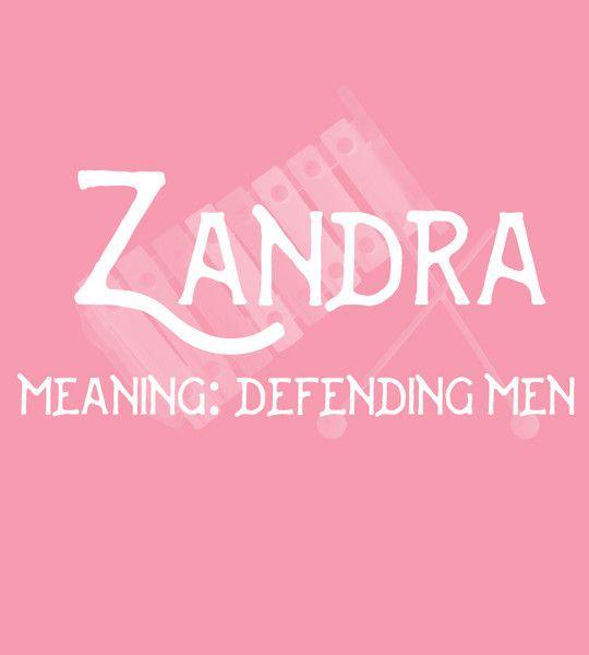 Zandra - Uncommon Girl Baby Names That Aren't Overused Yet - Photos
