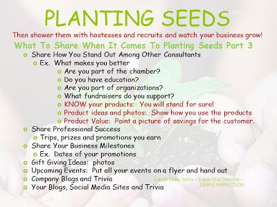 Direct Sales Consultant Tips for what to share when planting seeds Part 3.  #wicklessmolly #tiptalkwithwicklessmolly
