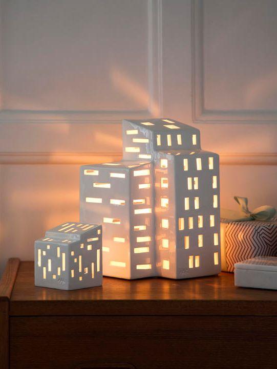 Der er kommet nye Urbania lys huse fra Kähler. #inspirationdk #inspiration #jul #juledekoration #christmas #kähler #urbania