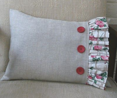 Sew Good by Deborah Good: Make a Frilled Cushion                                                                                                                                                     More
