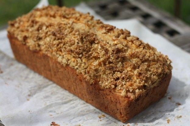 10 recettes aux flocons d'avoine - Gâteau aux flocons d'avoine