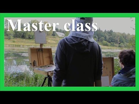 A short master class on landscape oil painting for the beginners, with English subtitles. More on www.daniil-belov.com