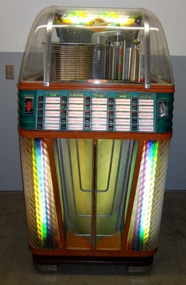 Vintage 1951 Rock Ola 1434 Super Rocket Coin Operated Jukebox 45s XLNT | eBay