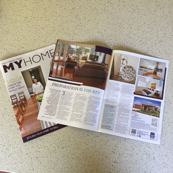 21 November 2014 - My Home Magazine 2014 - The Ballarat Courier - Preparation is the Key.