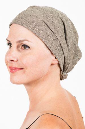 Foudre - Bandeau pour pelade, alopécie & chimiothérapie Art déco