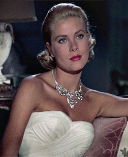 "Grace Kelly in ""To Catch a Thief"""