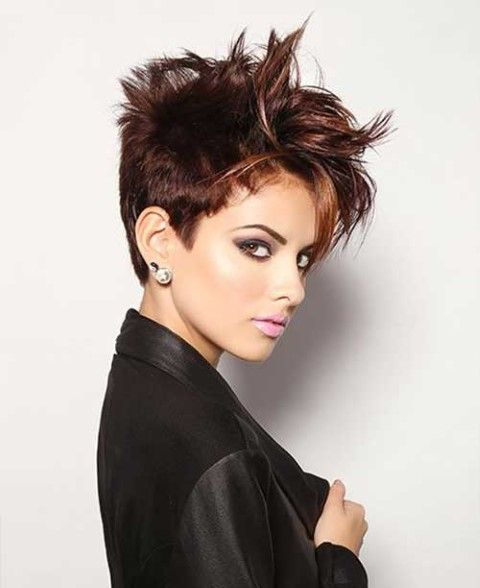 how to style a pixie cut with thick hair les 16 meilleures images du tableau emily hair 7162