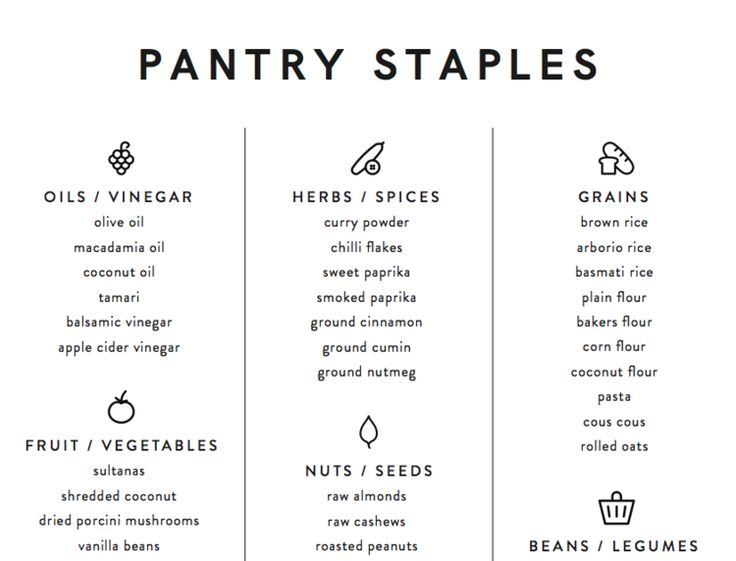 Pantry staples – what every Thermomix kitchen needs — alyce alexandra