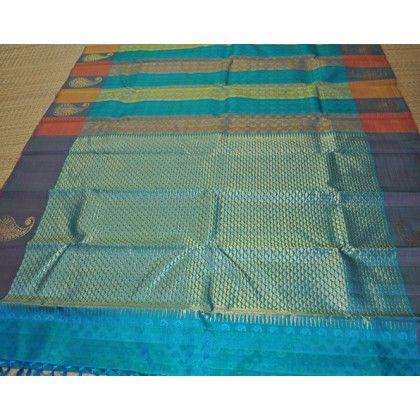 Kanchipuram Pure Silk Saree (KNC-VKM-009)