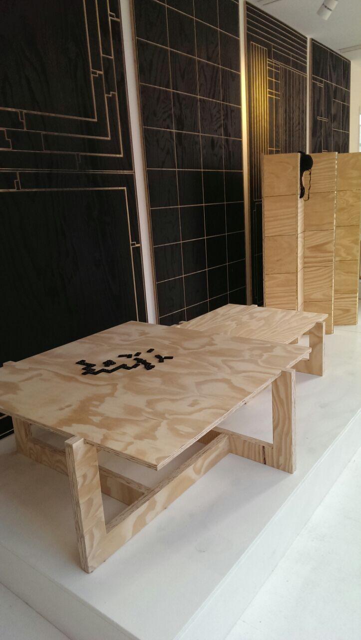 KARWEI | Goed idee nummer 1 om zelf te maken van underlayment: tafel. #DDW14 #karwei #diy