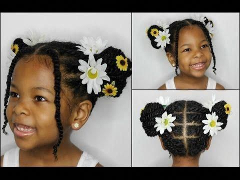 natural hairstyles for short hair 4c #Naturalhairstyles #twoBraided