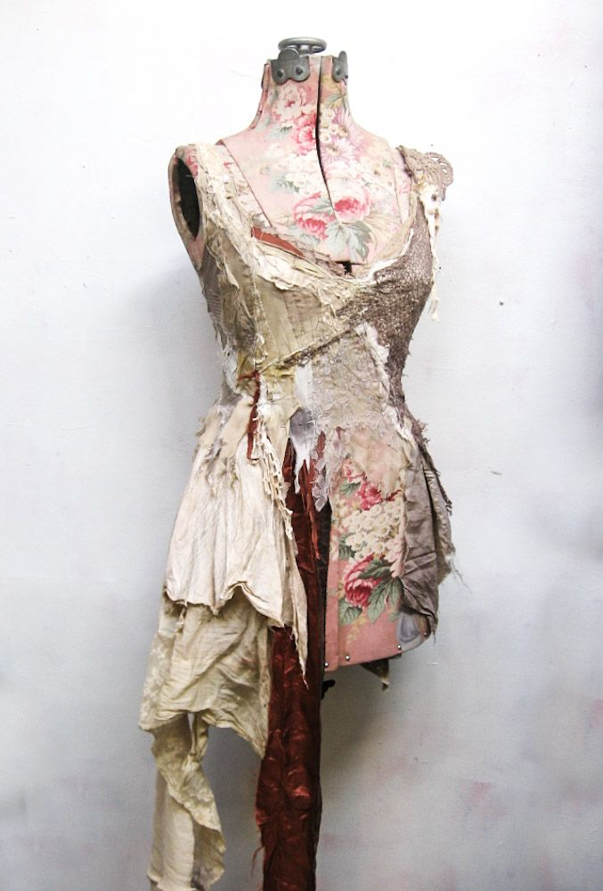 faery dress in progress at Gibbous Fashions