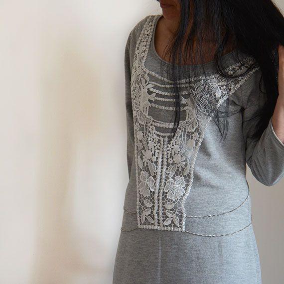 Body Jewelry Body Harness  Jewelry Lace Top Fashion by aynurdereli