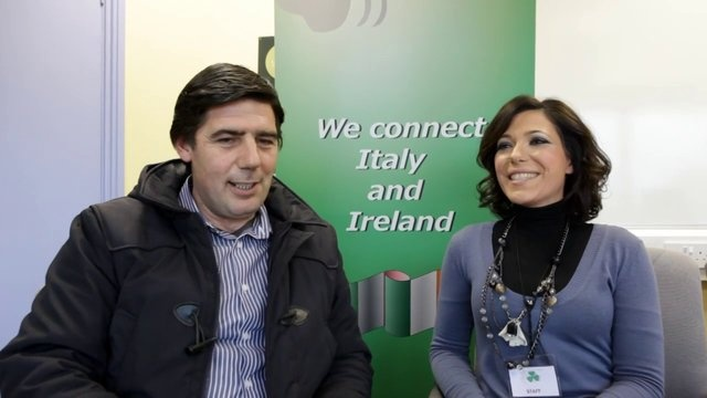 FIBI interviews Alessandro Mastrocinque- ( President of CIA Benevento -  Association of Agrifarmers from Sannio) in Ireland to promote typical products from Sannio (a rural area in the South of Italy rich of villages and typical products),
