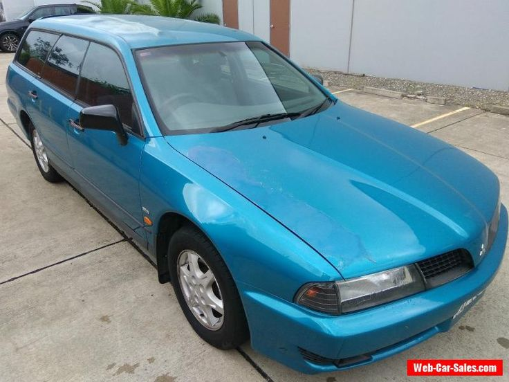 2001 MITSUBISHI MAGNA EXECUTIVE STATION WAGON - 9 MONTHS REGO - LOW 125428 KMS #mitsubishi #magna #forsale #australia