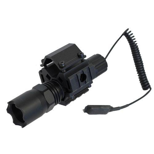 Shotgun Combo #1 - TriRail Mount + 160 Lumens Strobe Flashlight - $64.95 Item# AM-MT025+AM-FP160D