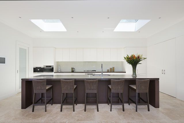 #modern #kitchen Custom built #luxury from Chateau #Architects and builders