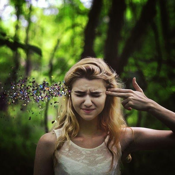Incredible Pictures: 11 Breathtaking Surreal Self Portraits By 20 Year Old Rachel Baran