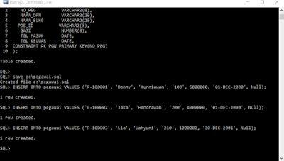 Tutorial Dasar Penggunaan Oracle Database            Setelah kita mengetahui bagaimana cara menginstal oracle database pada artikel sebel...