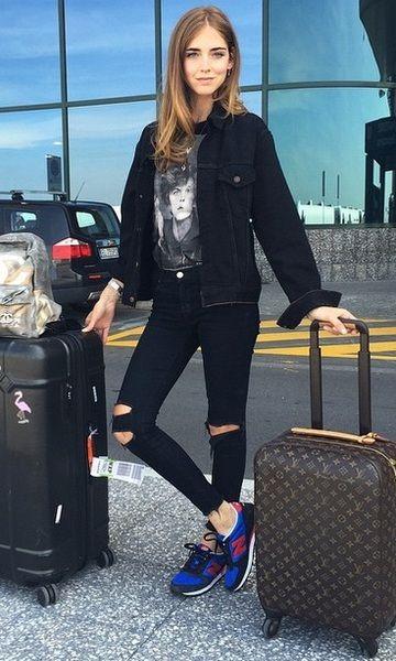Look de Aeroporto: Tênis & T-shirt