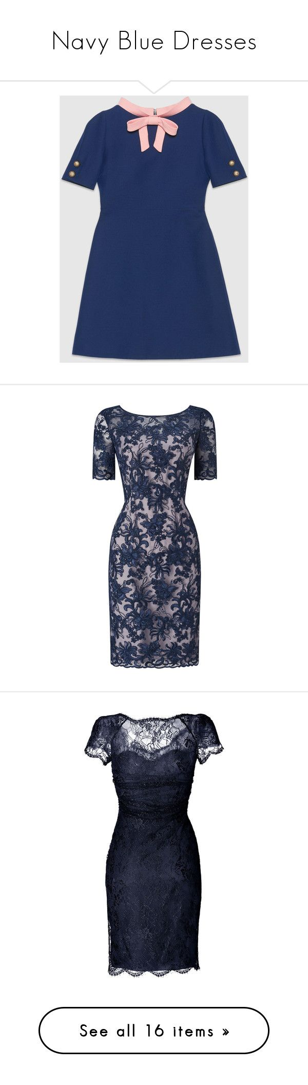 """""""Navy Blue Dresses"""" by melzy ❤ liked on Polyvore featuring dresses, blue, above the knee dress, blue short sleeve dress, silk dress, sleeved dresses, blue silk dress, long-sleeve floral dresses, print maxi dress and short sleeve dress"""
