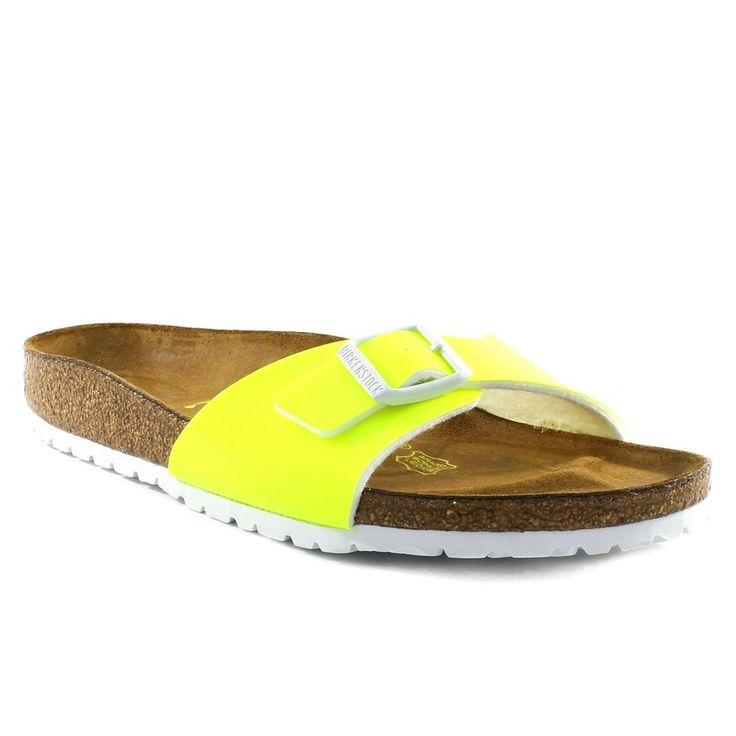 796A BIRKENSTOCK MADRID NEON JAUNE www.ouistiti.shoes le spécialiste internet  #chaussures #bébé, #enfant, #fille, #garcon, #junior et #femme collection printemps été 2016