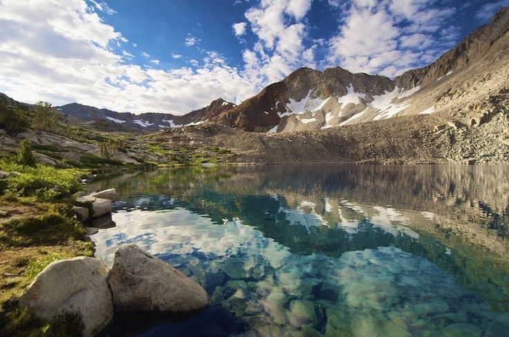 Lake Marjorie, Kings Canyon National Park, California, USA 30 Stunning Beaches & Lakes With The Most Crystal Clear Waters In The World • Page 5 of 6 • BoredBug