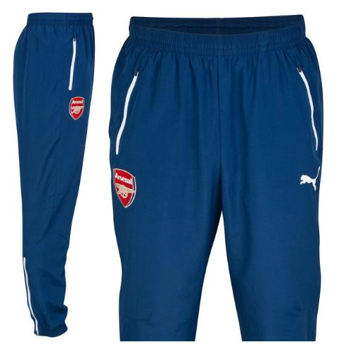 Arsenal Training Pants Blue Arsenal London Official Merchandise Available at www.itsmatchday.com