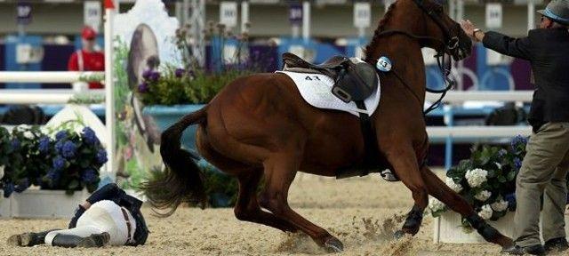 Actualité JO Londres cheval & équitation : JO Londres : Les joies de l'équitation au pentathlon moderne