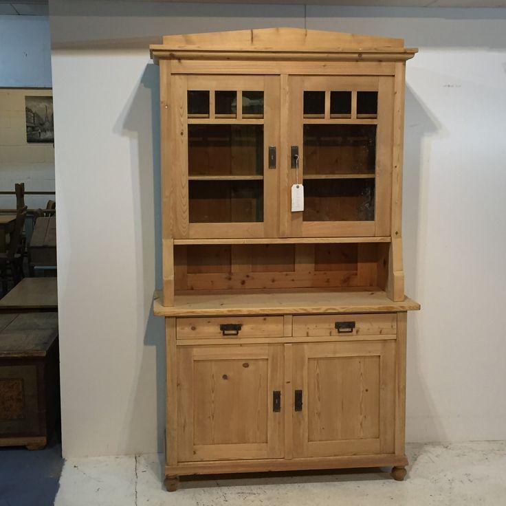 Large Antique Pine Dresser (T5608C)