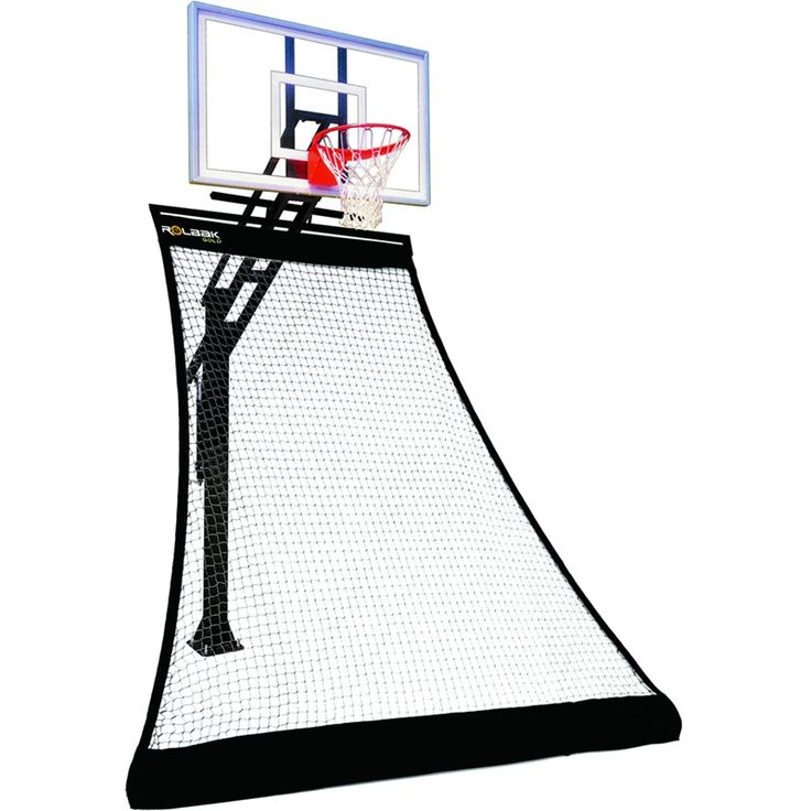 Awesome Roll Back Basketball Hoop via Backyard Ocean