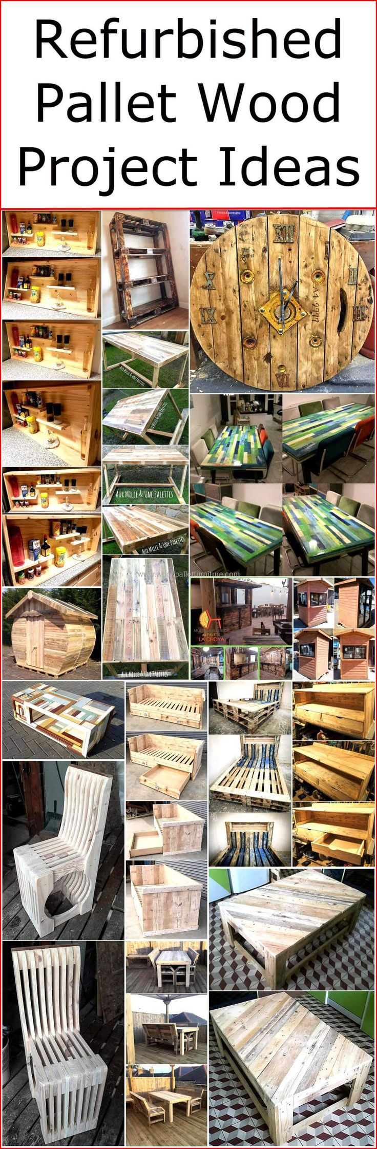 From the last many years, old shipping pallet is remarkably used for the refurbishing of home. So if you have some scrap pieces of wooden pallet planks in your place, then don't make them a part of your garbage, simple turn and transform them into newly crafted wood pallet projects.