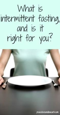 What is intermittent fasting and is it right for you?  I will still have my bullet proof coffee, but it is worth a try!