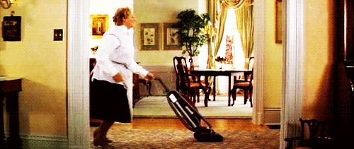 How to Respond to Any Situation With an Animated GIF   Mrs doubtfire, Home alone, Easy cleaning ...