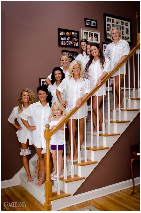 Before The Dress Poses | Women's Lounge, bridal party gift, with jewels n names on back