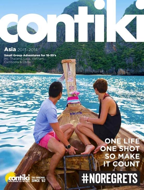 Contiki - Asia 2013-14 Brochure