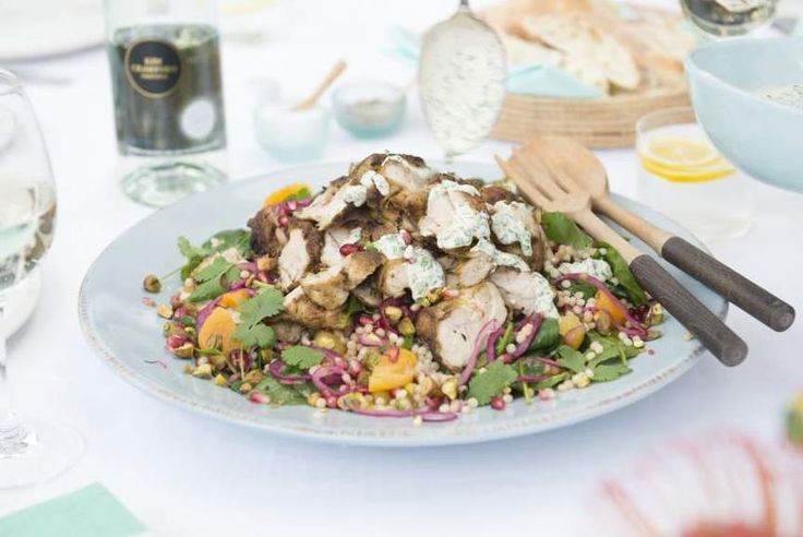 Moroccan chicken salad - http://chelseawinter.co.nz/moroccan-chicken-salad/