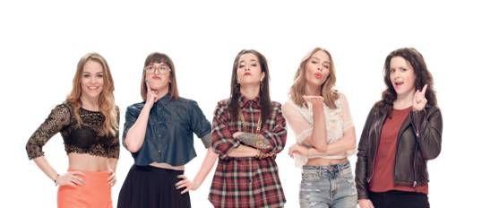 Maripier Morin, Virginie Fortin, Mariana Mazza, Marina Bastarache en vedette dans CODE F. | HollywoodPQ.com