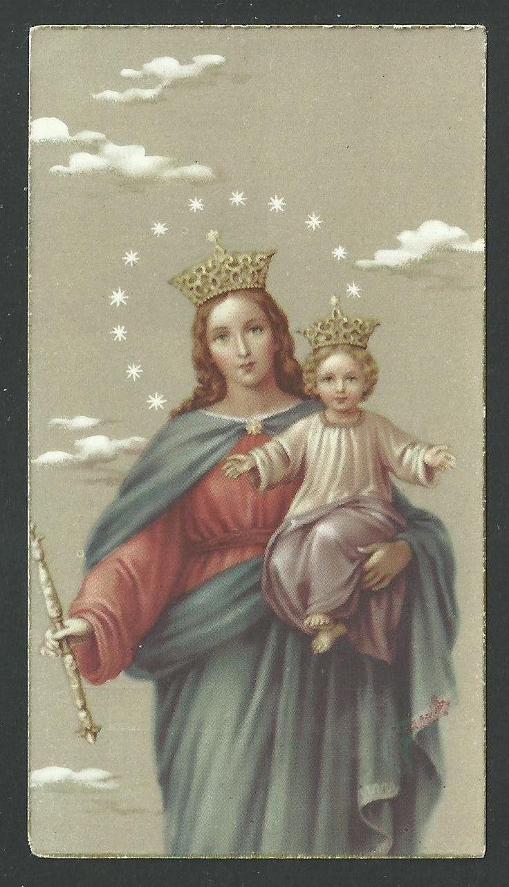 Estampa antigua de Maria Auxiliadora andachtsbild santino holy card santini FOR SALE • EUR 3,00 • See Photos! Money Back Guarantee. Estampa antigua de Maria Auxiliadora. 222178739987