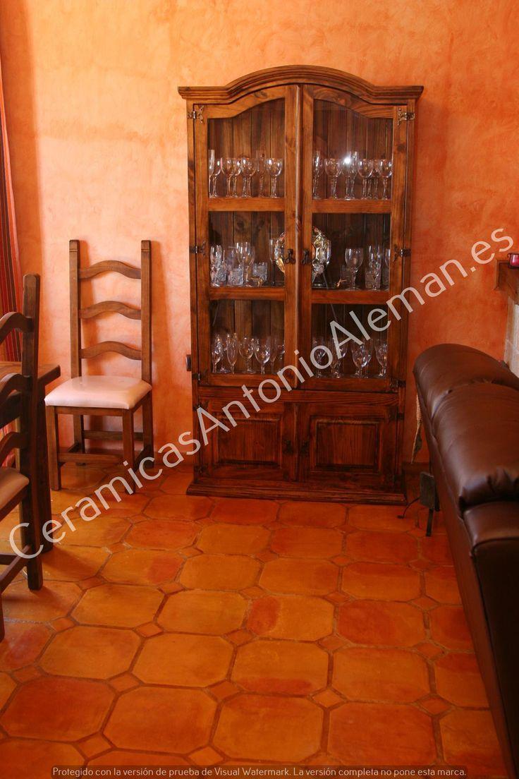 Muro de tijolo a vista fotos e modelos casa constru 237 da - Suelos De Barro Cocido Cer Micas Antonio Alem N