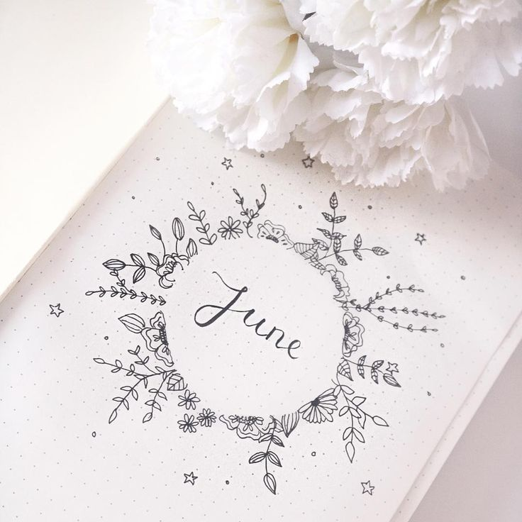 Bullet journal monthly cover page, June cover page… – #amazon #Bullet #Cover #Journal #June