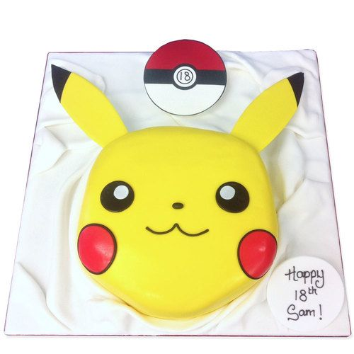 Pokemon Go Pikachu Cake delivered anywhere in the London area. Plus over 800 other cake designs, made fresh to order. Click for London's favourite cake maker